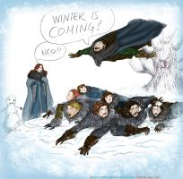 Winter is Coming! by sketchditto