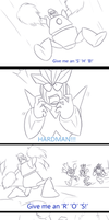 A hard reaction part 4 by zavraan