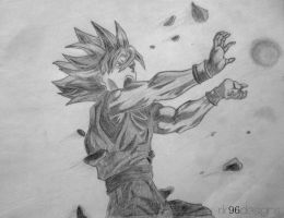 Goku-Kame Hame Ha by animeR96