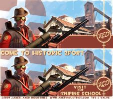 TF2 Sniper Spray by JayAxer