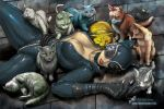 Catwoman's 9 Lives by marvisionart