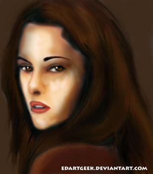 Bella Portrait by EdArtGeek