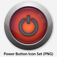 Power Button Icon Set by WillZMarler