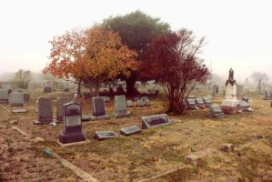 Cemetery colors by artistnpoetverse