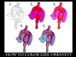 Coloring Tutorial by ToneyHadnotJr