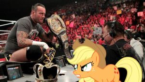 CM Punk, The King and The Pony by RicRobinCagnaan
