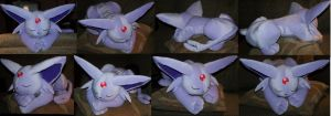Revised pillow Espeon by YutakaYumi