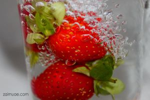 strawberry by B-Alsha3er