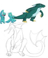 Water Starters 2 by exazo