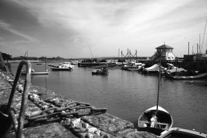 Keyhaven Harbour by Silver-Guild