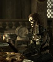 Skyrim character : Aela The Huntress by skyrimphotographer