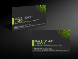 Sample Business Card 2 by basurero712