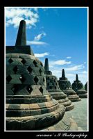 borobudur temple... by jalan14