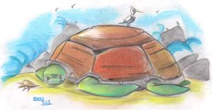 A very big turtle :p by Amer97