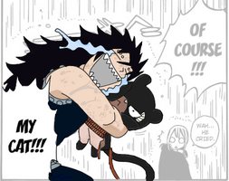 Gajeel + Lily by taintedmusic