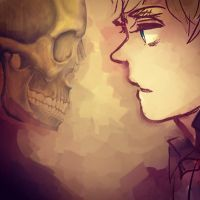 A Skull by pettes