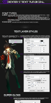 1st Tutorial: Text Effect by Cyrux-gfx