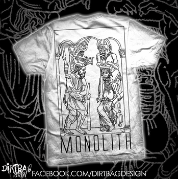 Monolith - Ancient Tee by DirtbagDesign