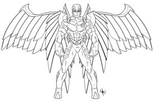 Astonishing Archangel by Kaufee