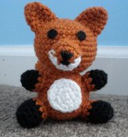 amigurumi fox by TheArtisansNook