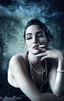 Smoking Up A Storm by Laura-Ferreira