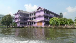 the purple house on the river by Ulitmate-Grim-Reaper