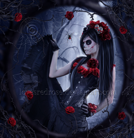 Bella Muerta by EnchantedWhispersArt