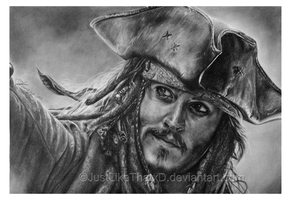 Captain Jack Sparrow by JustLikeThatxD
