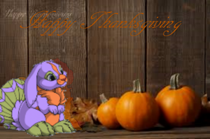 Thanksgiving Banner by waterflamewerewolf