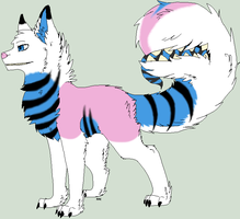Tailmouth Adoptable SOLD by Icegoddesswolf16