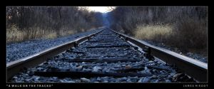 A Walk On The Tracks by jimroot