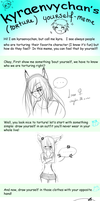 Torture Yourself Meme [Filled] by OkayIlie