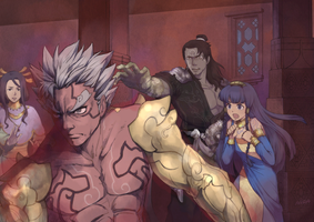 Asura's Wrath Interval Drama 9 by sidneymadmax