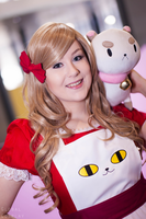 Bee and Puppycat with Global Cosplay by Samii-Doll