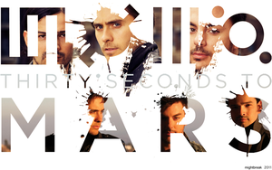 30 Seconds To Mars by mightbreak