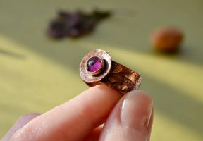 Copper ring by TerrasChains