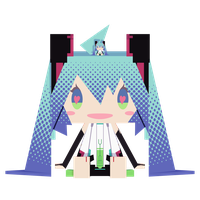 .: DL Series :. Papercraft Append Miku Hatsune by Duekko