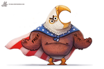 Daily Painting #956. FREEDOM INTENSIFIES (OG) by Cryptid-Creations