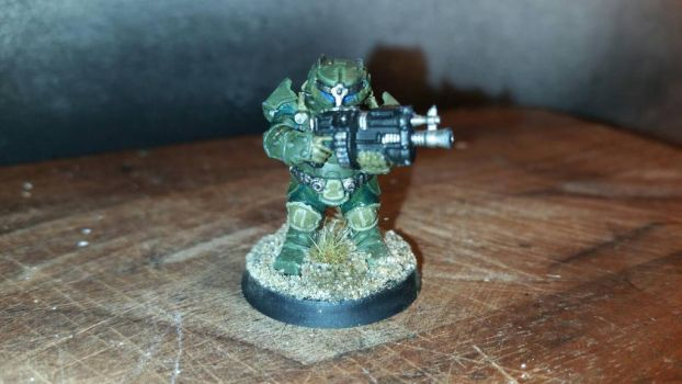 Warhammer 40k: Imperial Guard Squat Infantryman  by Predator4170