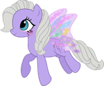 Forget-Me-Not the Flutterpony by TheShadowStone