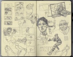 Moleskine spread by jppeer