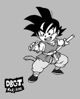 A Angry but Young Goku by Hero-Jaxx