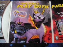 Spyro The Dragon Case and Demo Disk 9 by RedDevilDazzy2007
