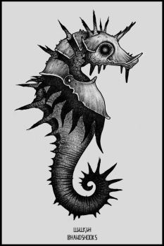 Sea_Horse by Hands-hooks