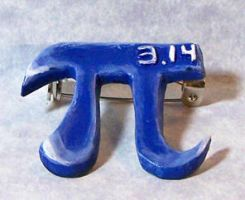 Pi Day Pin by SoundwarpSG-1