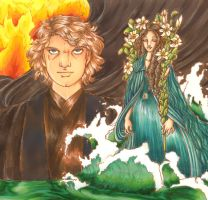 Water and Fire by simplytonks