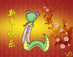 Chinese New Year 2013 by SilverMistStyxen