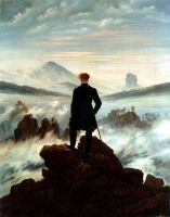 Wanderer Above the Sea of Fog by ThisTangleOfThorns