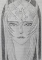 Midna - Traditional by Akira-Evans