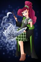 Disney Hogwarts students: Megara by Willemijn1991